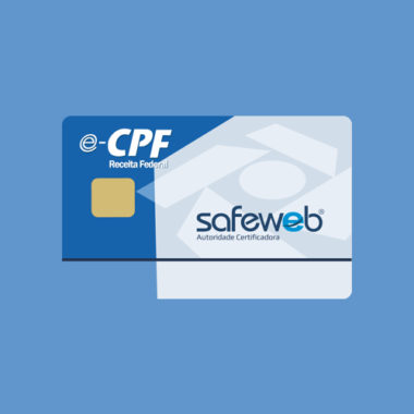 Certificado Digital e-CPF